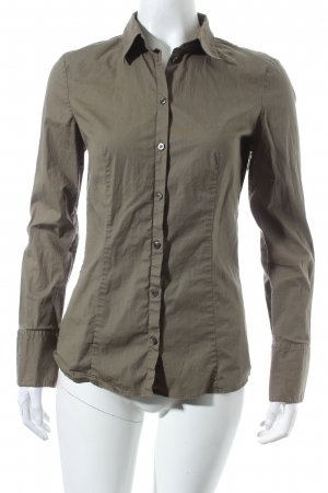 Hugo Boss Hemd-Bluse khaki Business-Look