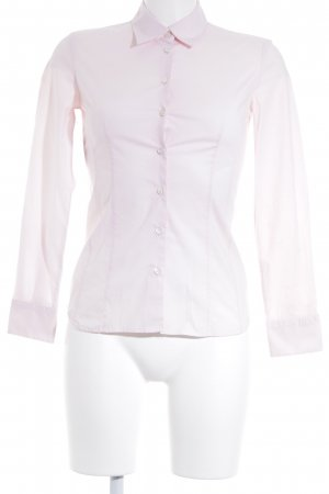 Hugo Boss Hemd-Bluse rosé Business-Look