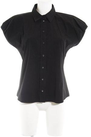 Hugo Boss Hemd-Bluse schwarz klassischer Stil