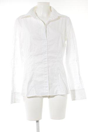 Hugo Boss Hemd-Bluse wollweiß Business-Look