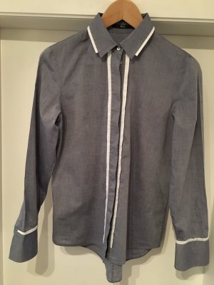 Hugo Boss Hemdbluse aus reiner Baumwolle, Größe 34