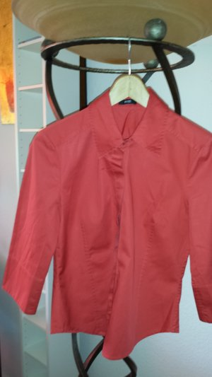 Hugo Boss Shirt Blouse brick red cotton