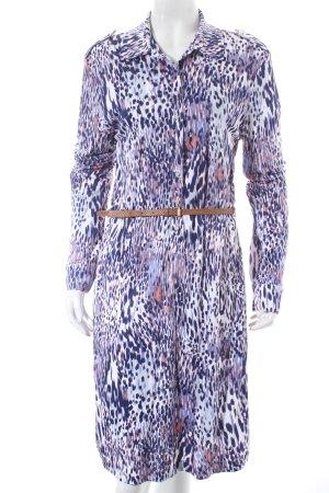 Hugo Boss Hemdblusenkleid abstraktes Muster Street-Fashion-Look