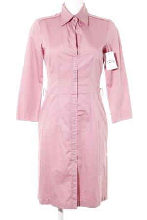 Hugo Boss Hemdblusenkleid rosa Casual-Look