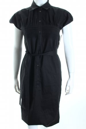 Hugo Boss Hemdblusenkleid schwarz Business-Look