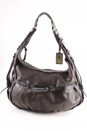 Hugo Boss Carry Bag grey brown vintage look