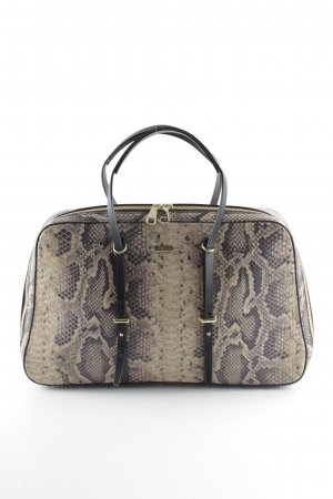 Hugo Boss Carry Bag sand brown-grey brown reptile print