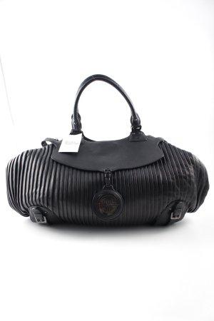 Hugo Boss Carry Bag black Logo appliqué