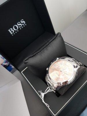 Boss Hugo Boss Orologio con cinturino di metallo grigio chiaro Acciaio pregiato