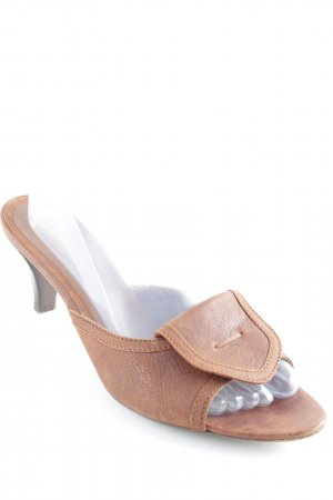 Hugo Boss High Heel Sandal dark brown casual look