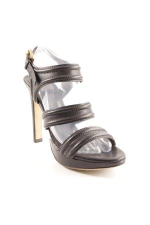 Hugo Boss High Heel Sandaletten schwarz Elegant