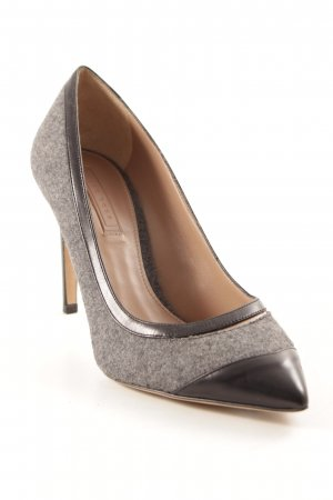 Hugo Boss High Heels schwarz-grau Business-Look