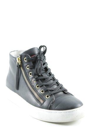 Hugo Boss High Top Sneaker mehrfarbig Casual-Look