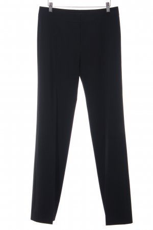Hugo Boss High-Waist Hose schwarz Business-Look