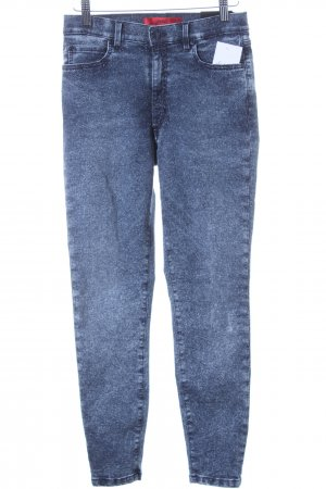 Hugo Boss High Waist Jeans blau Jeans-Optik