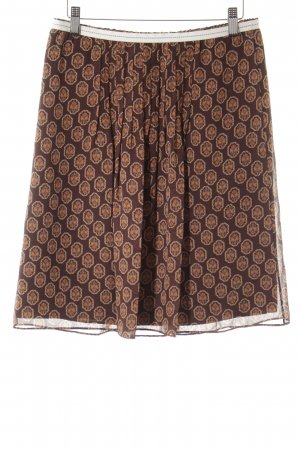 Hugo Boss High Waist Rock Aztekenmuster extravaganter Stil