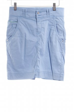 Hugo Boss High Waist Rock himmelblau Casual-Look