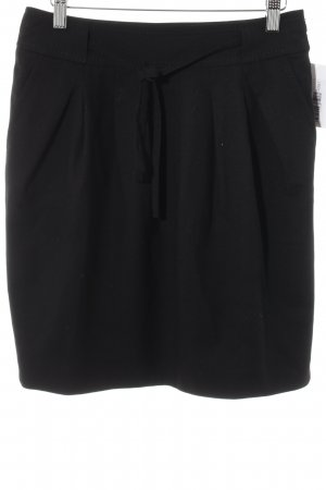 Hugo Boss High Waist Rock schwarz Elegant