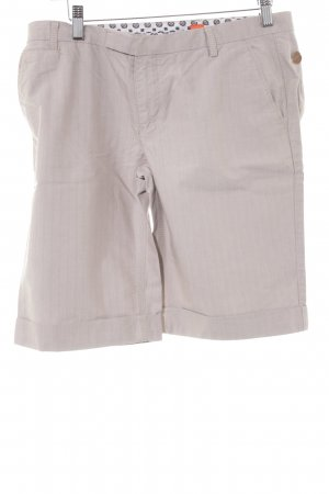 Hugo Boss Short taille haute beige-crème style décontracté