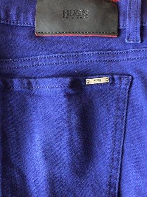 Hugo Boss Stretch Trousers blue