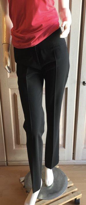 Hugo Boss Hose 34 schwarz Schurwolle Anzughose