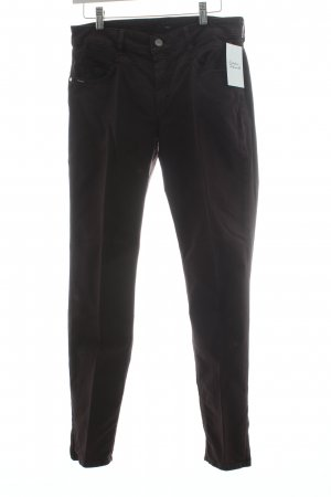 Hugo Boss Hose bordeauxrot Casual-Look