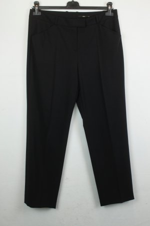 Hugo Boss Woolen Trousers black wool