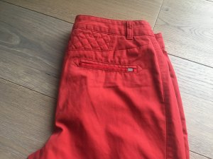 Hugo Boss Regenpijpbroek rood