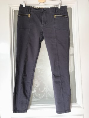 Hugo Boss Pantalone chino antracite-viola-grigio