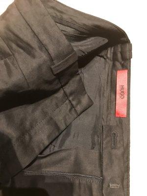 Hugo Boss Pantalone a pieghe nero