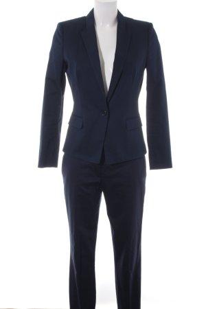 Hugo Boss Broekpak donkerblauw zakelijke stijl