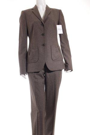 Hugo Boss Tailleur pantalone marrone scuro stile casual
