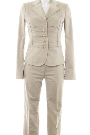 Hugo Boss Tailleur pantalone beige chiaro stile professionale