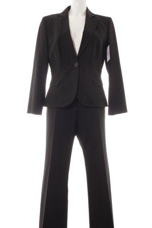 Hugo Boss Tailleur pantalone nero stile professionale