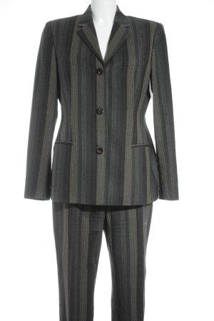 Hugo Boss Tailleur pantalone motivo a righe stile professionale