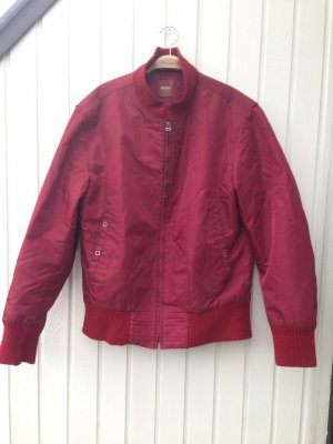 Hugo Boss Bomber Jacket carmine mixture fibre