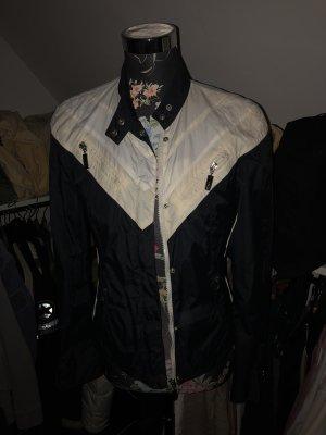 Hugo Boss Jacke schwarz weiß Gr. S