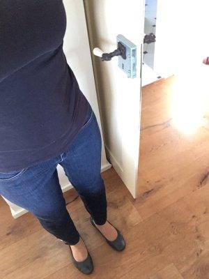 Hugo Boss Jeans a 7/8 blu scuro-blu Cotone