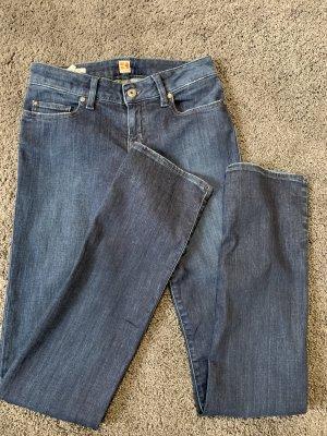 Hugo Boss Jeans vita bassa blu