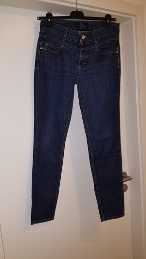 Hugo Boss Carrot Jeans dark blue cotton