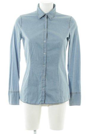 Hugo Boss Denim Shirt blue casual look