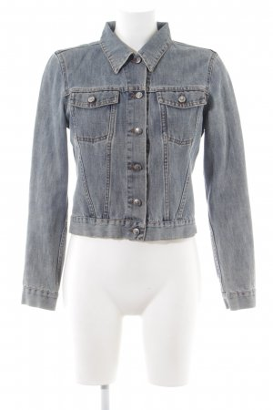 Hugo Boss Jeansjacke hellgrau Casual-Look
