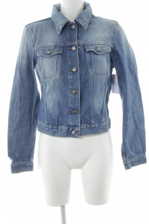 Hugo Boss Jeansjacke blau Casual-Look