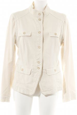Hugo Boss Jeansjacke creme Jeans-Optik