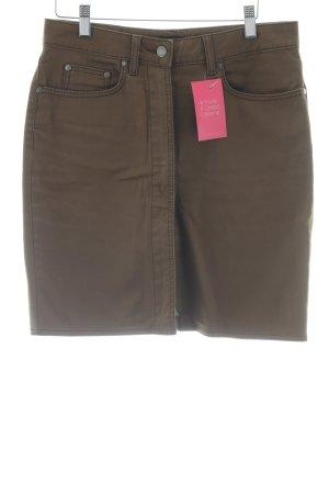 Hugo Boss Denim Skirt light brown casual look