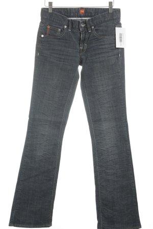 Hugo Boss Jeansschlaghose graublau 80ies-Stil
