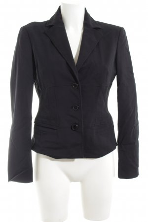 Hugo Boss Jerseyblazer schwarz Business-Look