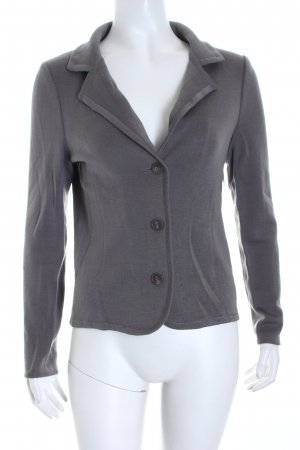 Hugo Boss Jerseyblazer grau Business-Look