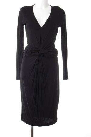 Hugo Boss Jerseykleid schwarz Elegant