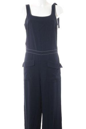 Hugo Boss Jumpsuit dunkelblau Casual-Look